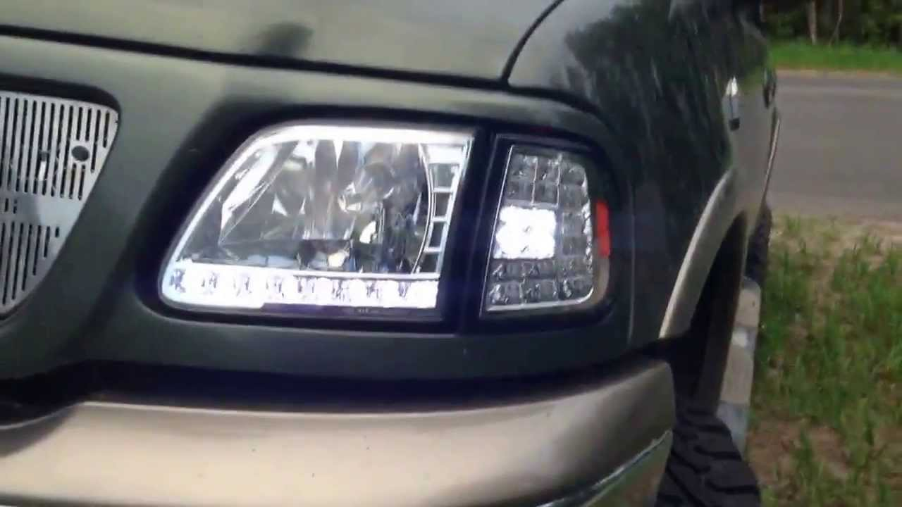 Lifted 2003 F150 With Led Lights Youtube