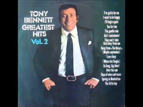 TONY BENNETT: I Want to be Happy