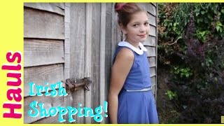 Shopping Haul Irish Edition & Giveaway | Annie Goes Shopping in Ireland | Jazzy Girl Stuff