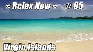 Relax. CINNAMON BAY St. John, US Virgin Islands #95 Beaches Ocean Waves USVI nature sounds Trunk