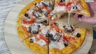 prepare Pizza three types готовим Пицца три вида