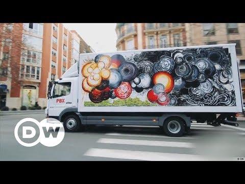 Kunst auf Lastwagen | DW Deutsch
