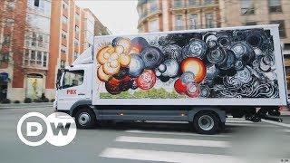 Kunst auf Lastwagen   DW Deutsch