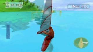 Water Sports (Wii) Windsurfing gameplay