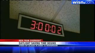 Clocks Spring Forward For Daylight Saving Time