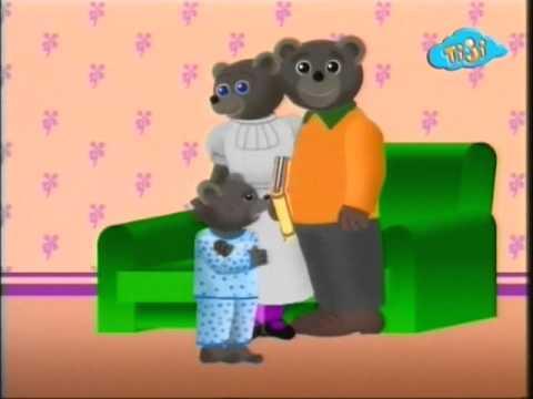 Бурый медвежонок хочет поцелуй : (