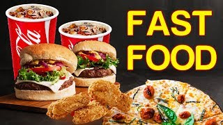 Fast Food Vocabulary English - Learn English Vocabulary Words