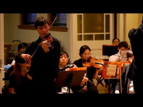 Chausson Poème by Nathan Meltzer and the Ensemble 212 Orchestra