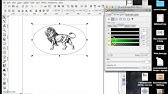 K40 Whisperer: Making a Design - YouTube