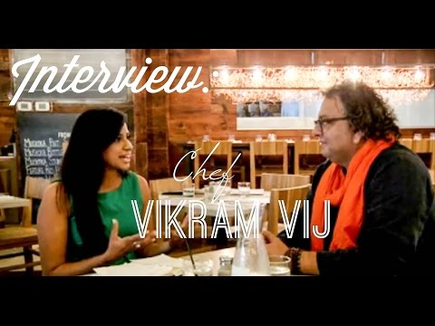 The Lifestyle File's Angelie Sood interviews Vancouver Chef, Vikram Vij