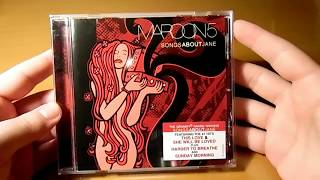 Maroon 5 - Songs About Jane - Unboxing