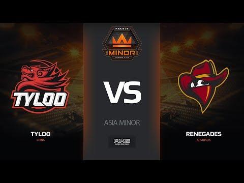 TyLoo vs RNG - Asia Minor London 2018 Grand Final-Map1