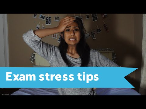 How to deal with exam stress and anxiety