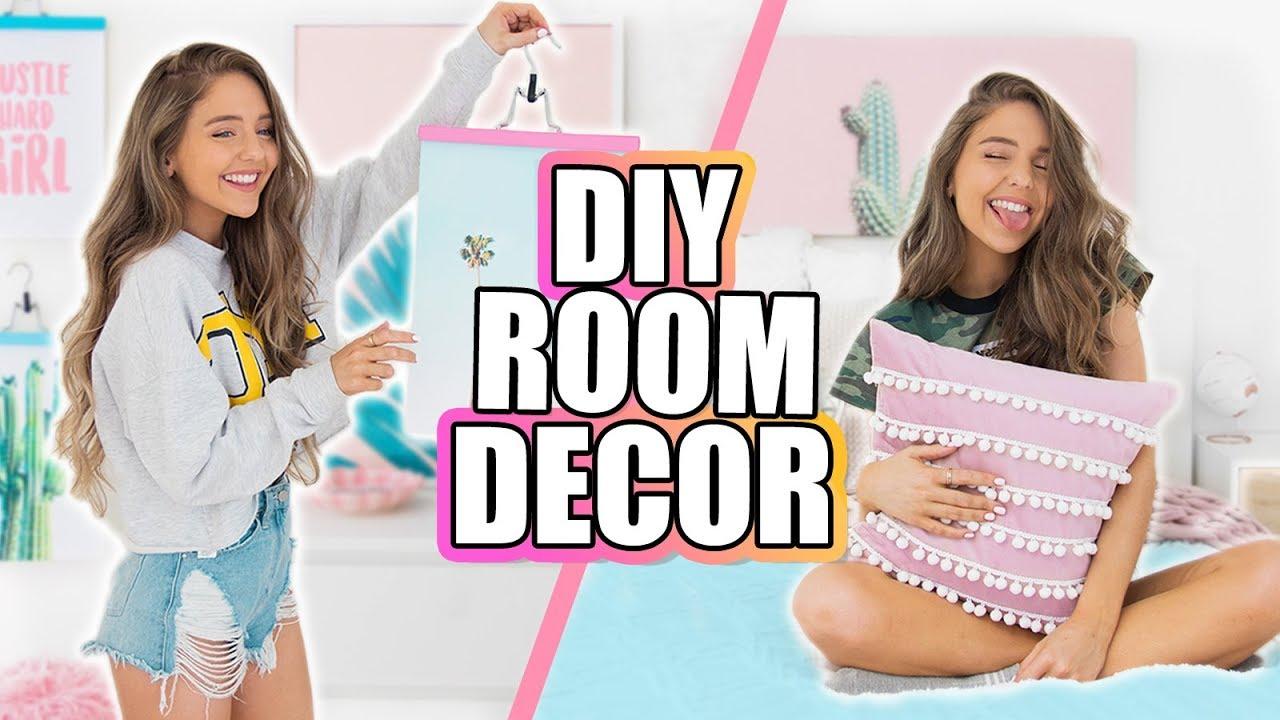 DIY ROOM DECOR IDEAS 2018! Quick + Cheap DIYs