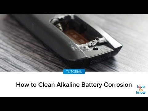 How To Clean Alkaline Battery Corrosion