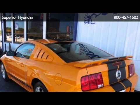 2007 Ford Mustang Gt Premium Castroville Youtube