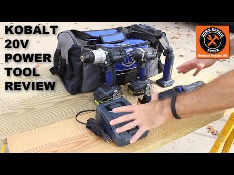 Kobalt 20V Power Tool Review -- by Home Repair Tutor