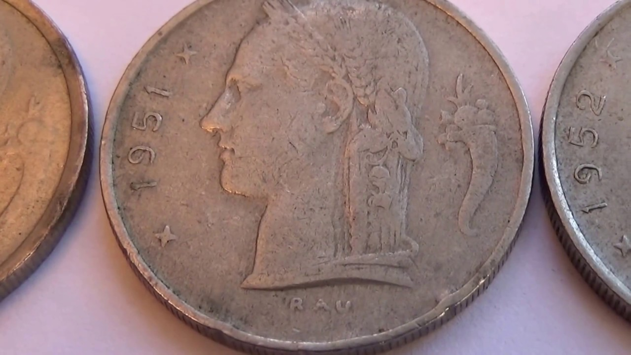 1 5 Fr 3 Belgie Coins