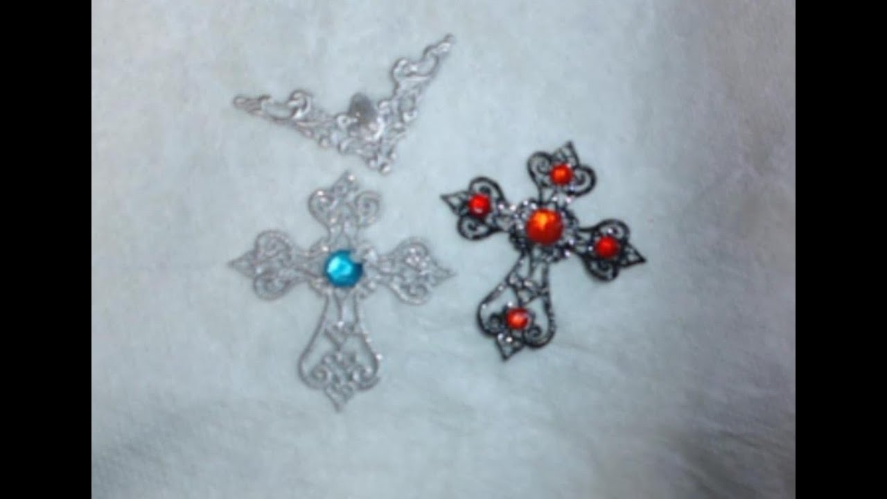 Painting Filigree and making unique jewelry out of it