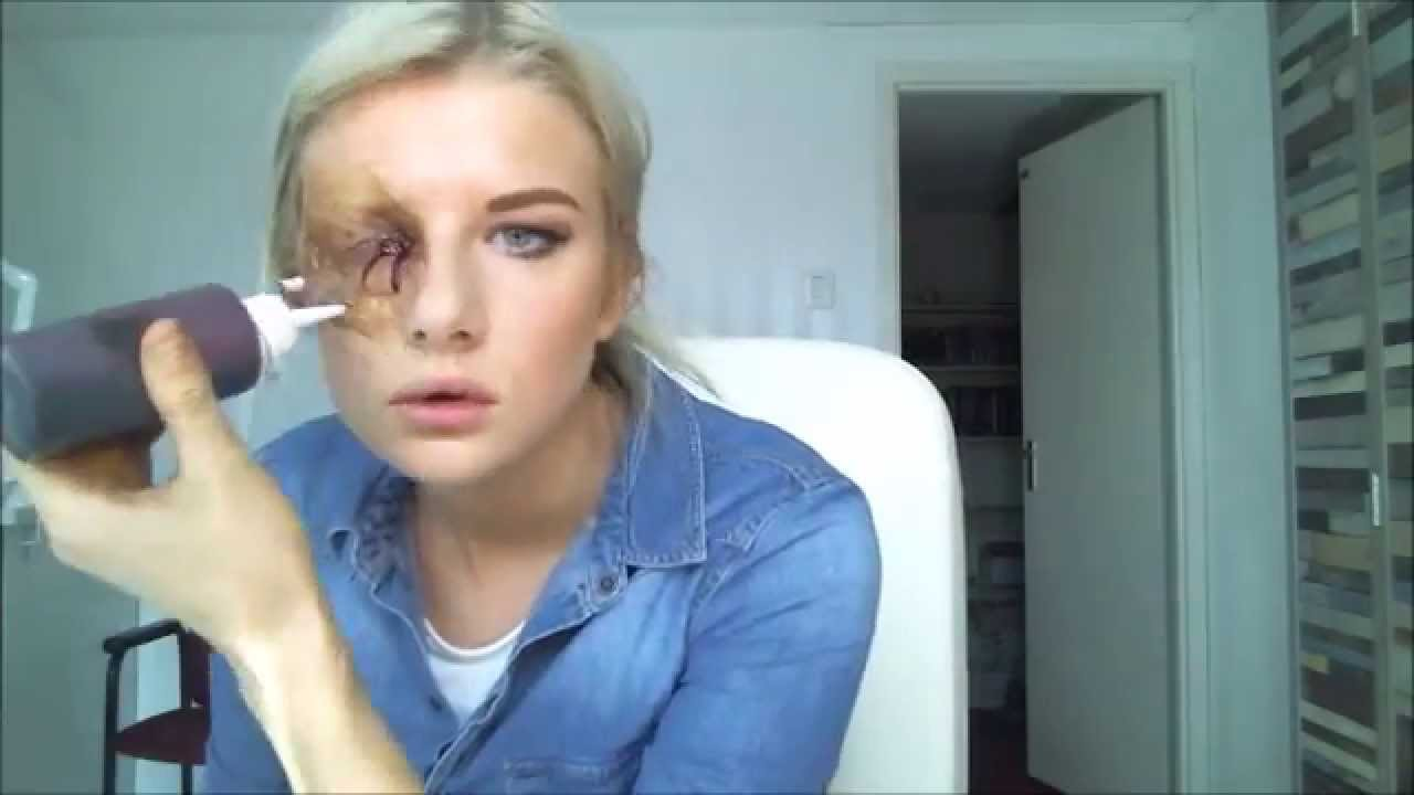 Empty Eye Socket Makeup Tutorial - YouTube