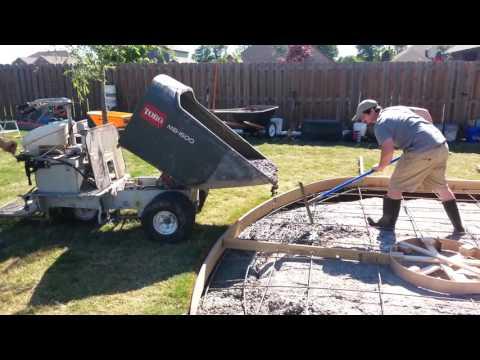 How to move we concrete long distances. Ask Porter Construction