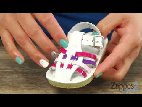 Salt Water Sandal by Hoy Shoes Sun-San - Sailors (Infant/Toddler) SKU: 8845423