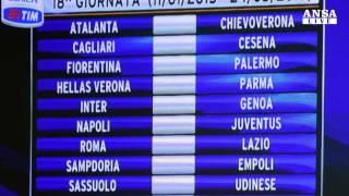 Calendario seria A 2014-2015: si inizia subito con Roma-Fiorentina