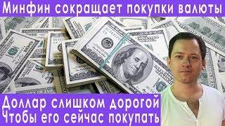 Смотреть видео Минфин РФ считает что доллар слишком дорогой прогноз курса доллара евро рубля валюты на май 2019 онлайн