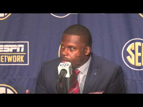 Reggie Ragland talks about coming back, Nick Saban and the pressure of playing at Alabama