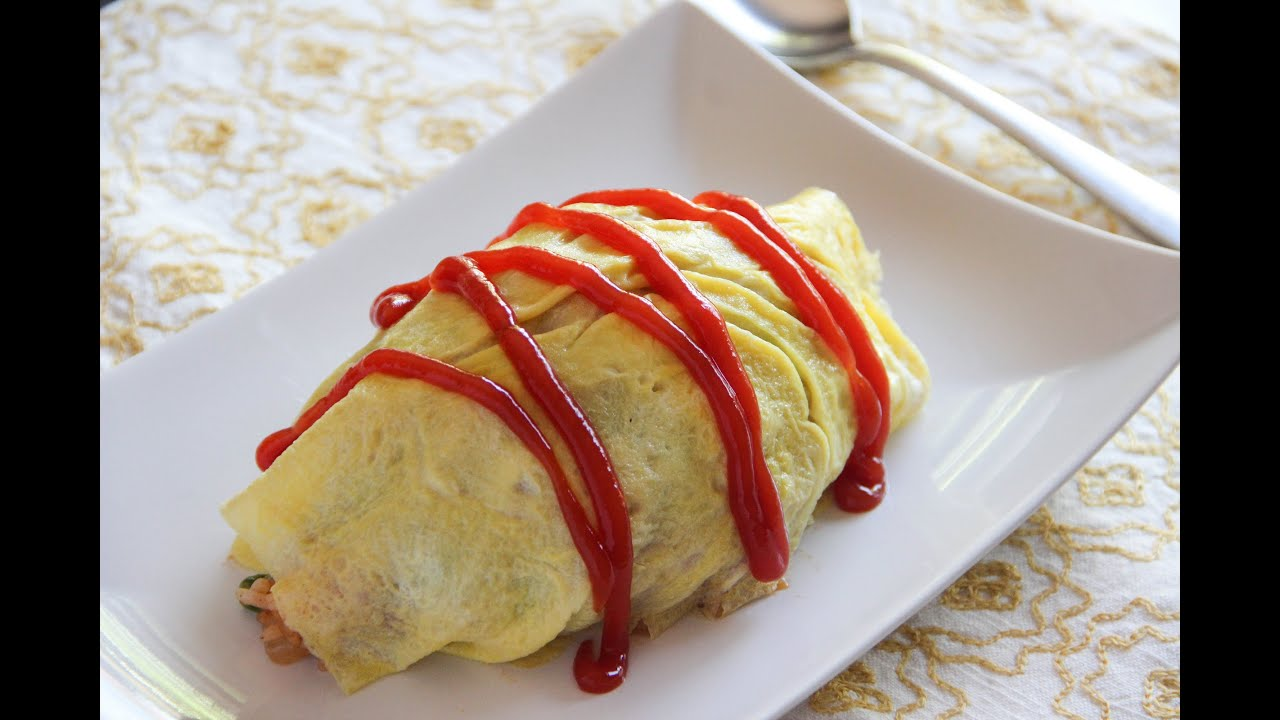 Omurice recipe japanese cooking 101 youtube forumfinder Gallery