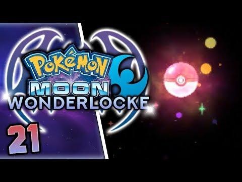AMAZING STARTER POKEMON FROM WONDERTRADES! Pokemon Moon Wonderlocke Part 21 w/ HDvee