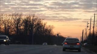 Panasonic Lumix FZ47 1080p test: Sunset drive in Fort Wayne, Indiana