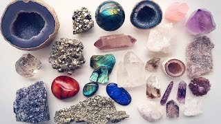 MY CRYSTAL/GEMSTONE COLLECTION! (Smaller Pieces)
