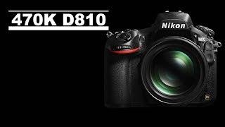 470K Shutter Nikon D810 İnceleme