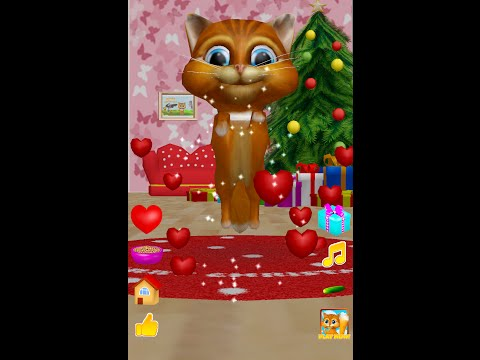 3D Talking Cat dancing JINGLE BELLS