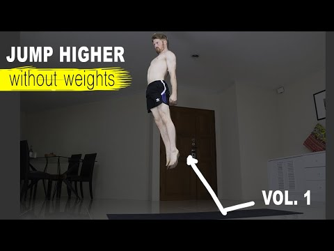 How To Jump Higher WITHOUT Weights – 3 Best Plyometric Exercises