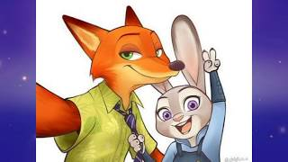 "Zootopia Judy x Nick""You know you love me"""