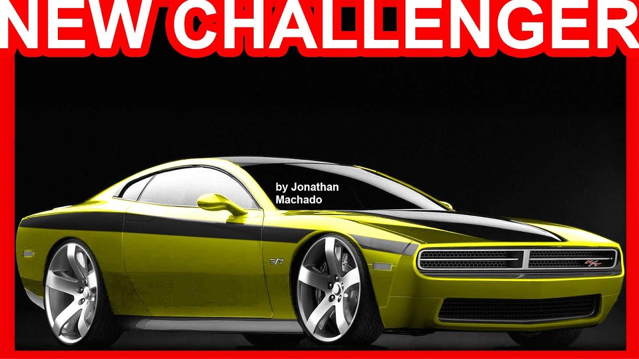 PHOTOSHOP Novo Dodge Challenger R/T 2019 V6 Biturbo @ Alfa Romeo Giulia #Challenger - YouTube
