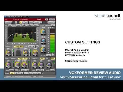 Voxengo Voxformer Review Audio Samples (HD)