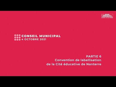 Conseil municipal du 4 octobre 2021 - PARTIE 6