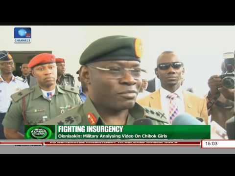 Chief Of Defence Staff Says Military Analysing Video On Chibok Girls