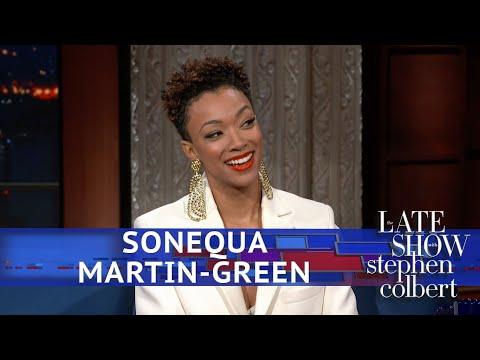 Sonequa Martin-Green Comments On Hipster Spock