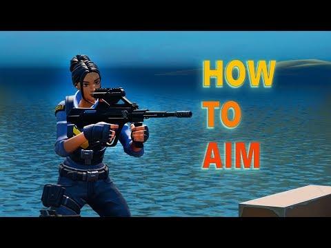 How to Aim in Fortnite
