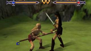 Xena Talisman of Fate N64 Gabrielle/Hope combo moves