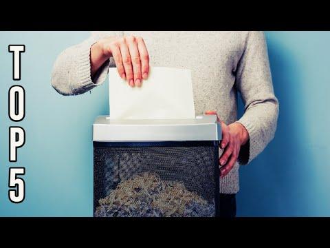✅ TOP 5: Best Paper Shredder 2019