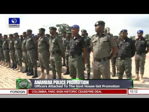 Police Promote Officers Attached To Anambra State Govt. House