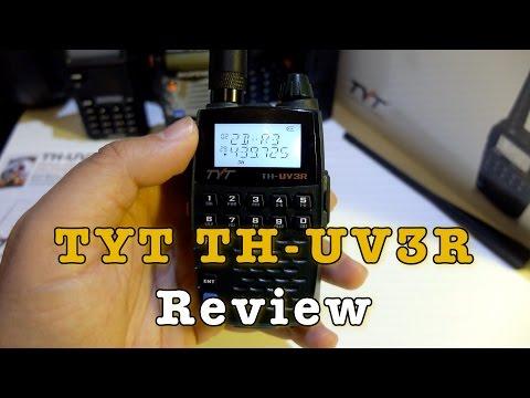 TYT TH-UV3R 2W Pocket Radio Review
