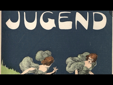 JUGEND MAGAZINE YOUTH 1901 Art Nouveau VIDEO HD