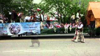 Polish Constitution Day Parade Chicago 2012