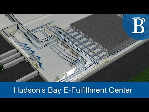 Inside Hudson's Bay State-of-the-Art Distribution Center | Bastian Solutions